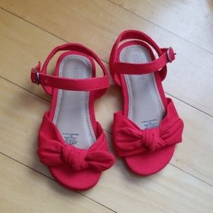 5/$20 Old Navy Bow Sandals